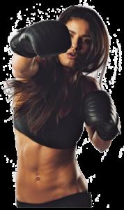 fit, in-shape woman