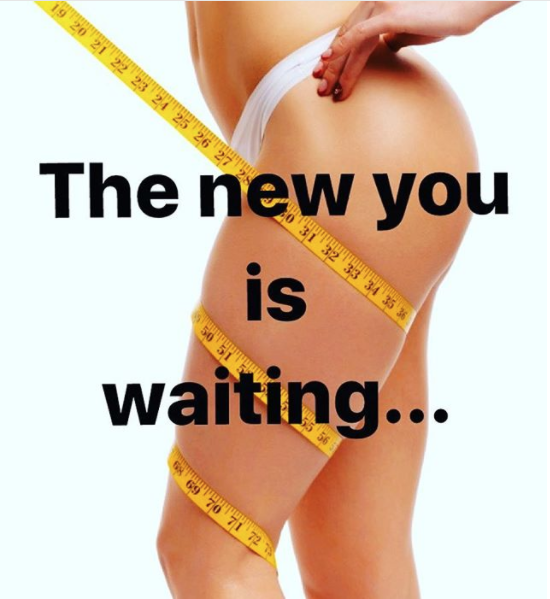 Reshape your body for 2018
